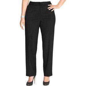 Calvin Klein Womens Plus Size Career Pants  Sz 18W